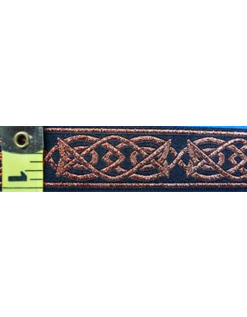 Cloak and Dagger Creations Celtic Fish Trim, CopperBlack (Discontinued)