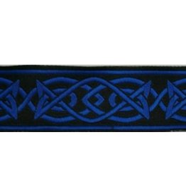 Cloak and Dagger Creations Celtic Fish Trim, Blue/Black (Discontinued)