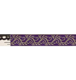 Formal Vine Trim, Gold on Purple