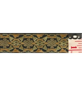 Cloak and Dagger Creations Knotwork Blocks Trim, Gold/Black