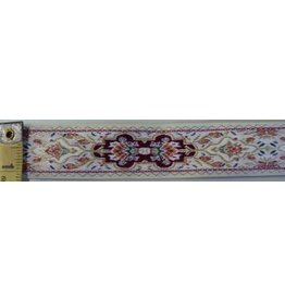 Medallion, Double Trim, Gold/Red/White
