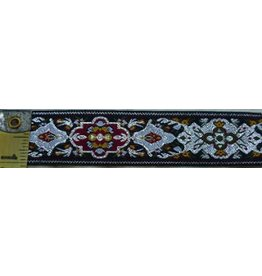 Cloak and Dagger Creations Medallion Trim, Silver/Green/Red/Yellow