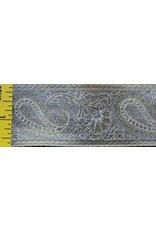 Cloak and Dagger Creations Paisley Trim, Gold/White