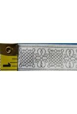 Cloak and Dagger Creations Royal Tudor trim, Silver/White