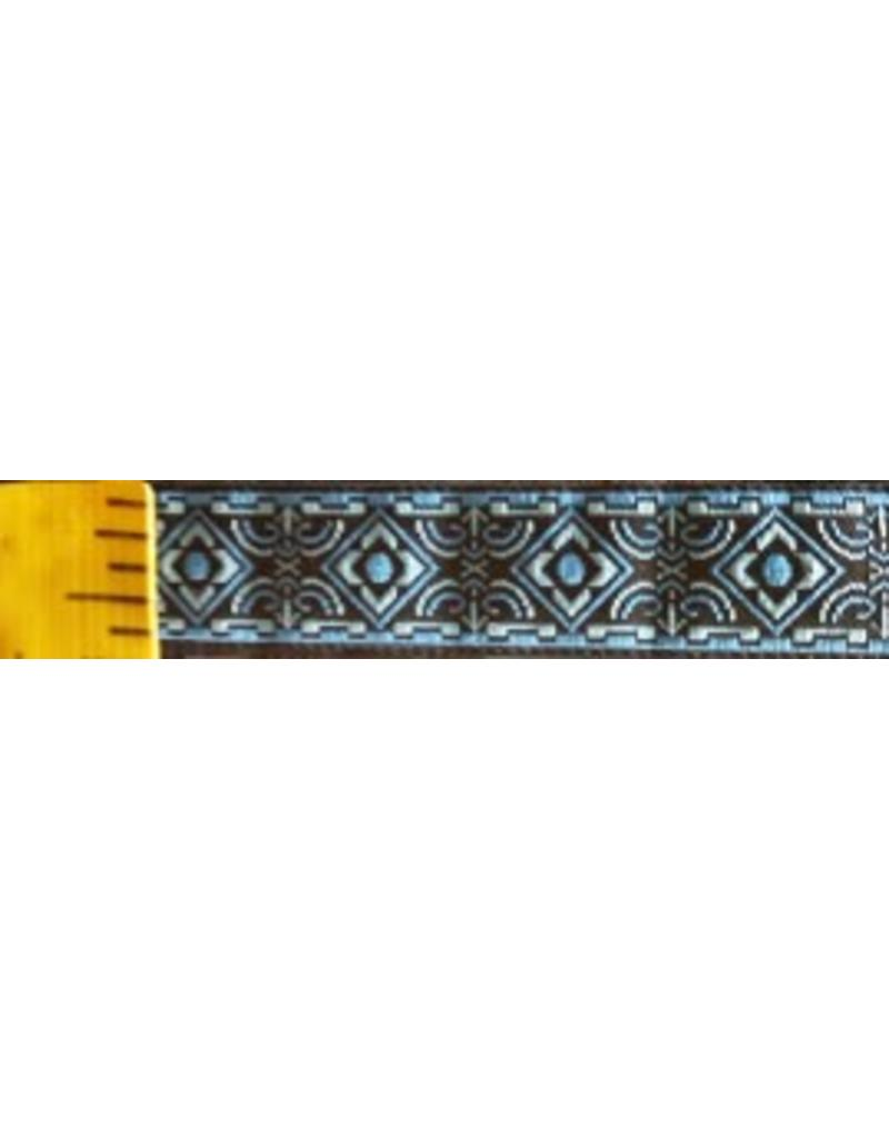 Cloak and Dagger Creations Square Diamonds trim, Blue/Brown