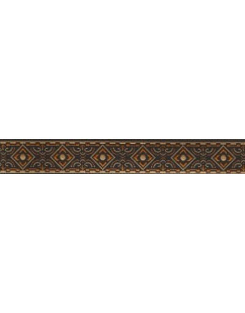 Cloak and Dagger Creations Square Diamonds Trim, Rust/Brown