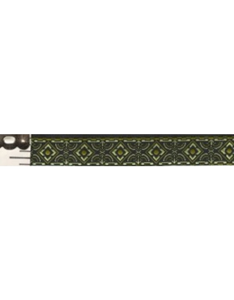 Cloak and Dagger Creations Square Diamonds Trim, Green/Black