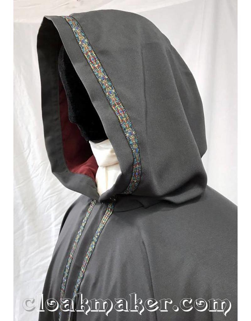 Cloak and Dagger Creations Florentine Trim, Gold/Blue/Red - Narrow
