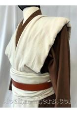 Cloak and Dagger Creations J516 - Brown Linen Open Necked Jedi Tunic - S/M