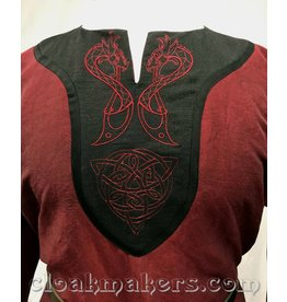 J100 - Maroon Tunic with Wyverns