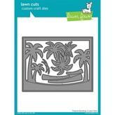 Lawn Fawn Dies (tropical backdrop)