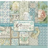 Stamperia Double-Sided Paper Pad 12X12 - Azulejos