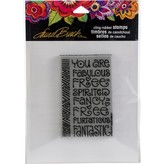 Stampendous Laurel Burch Cling Stamp (fabulous)