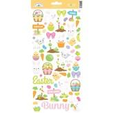 Doodlebug Cardstock Stickers (hoppy easter)