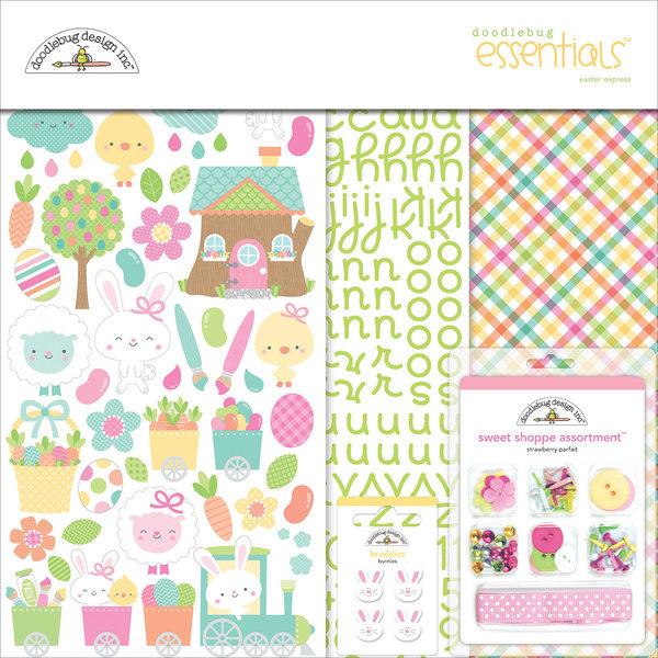 Doodlebug Essentials Page Kit 12X12 (easter express)