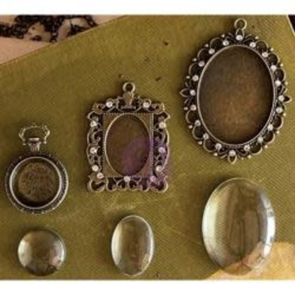 Prima Marketing Metal Embellishments (strasbourg antique gold)