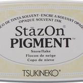 Tsukineko StazOn Pigment Ink Pad - Snowflake