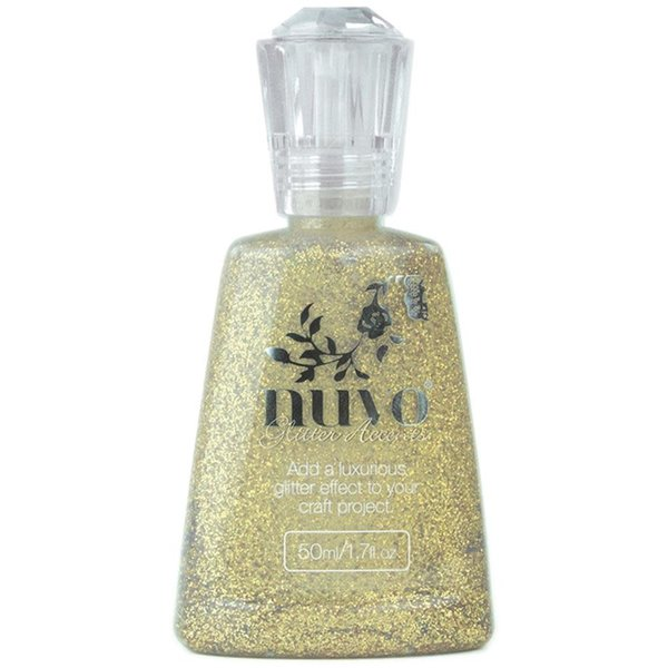 Nuvo Glitter Accents (aztec gold)