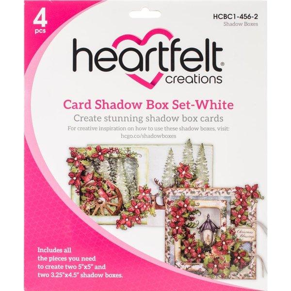 Heartfelt Creations Card Shadow Box Set (white)