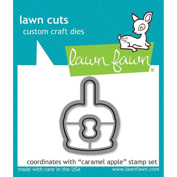 Lawn Fawn Dies (caramel apple)