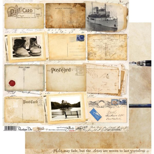 Noteable Double-Sided Cardstock 12X12 (carte postale)