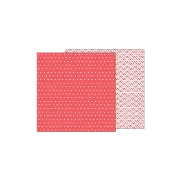 Pebbles Forever My Always Double-Sided Cardstock 12X12 (be mine)
