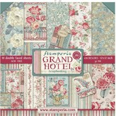 Stamperia Intl Stamperia Double-Sided Paper Pad 12X12 - Grand Hotel