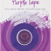 Thermoweb iCraft Removable Purple Tape .5X15yd Roll