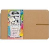 Dylusions Creative Flip Journal (kraft 8.5X5.5)