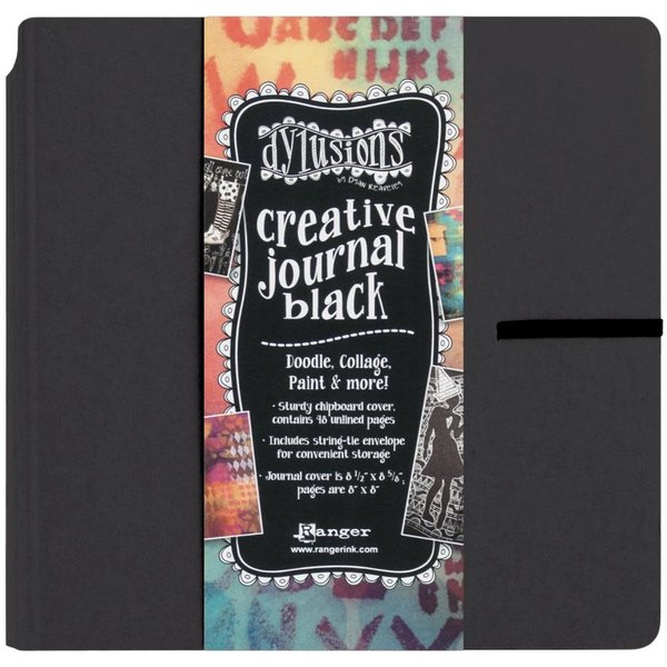 Dylusions Creative Journal (black 8.75X9)