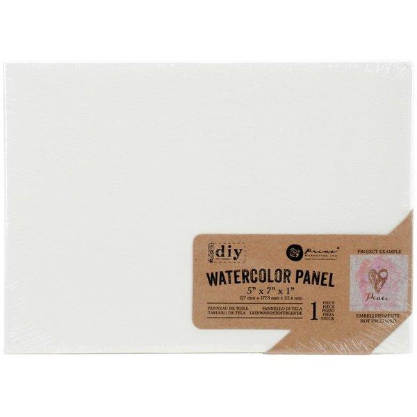 Prima Marketing Watercolor Canvas Panel 5x7