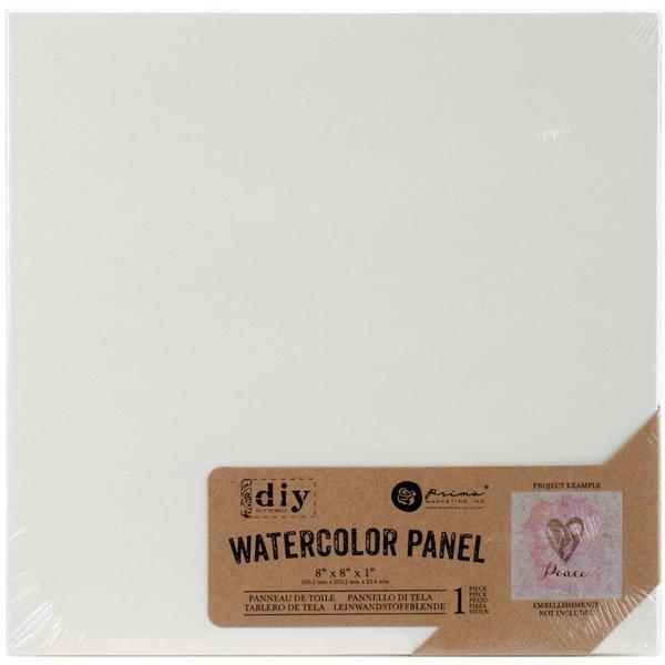 Prima Marketing Watercolor Canvas Panel 8x8