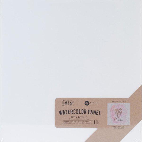 Prima Marketing Watercolor Canvas Panel 12x12