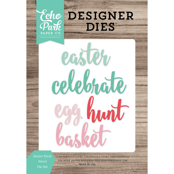 Echo Park Paper Die (easter hunt)
