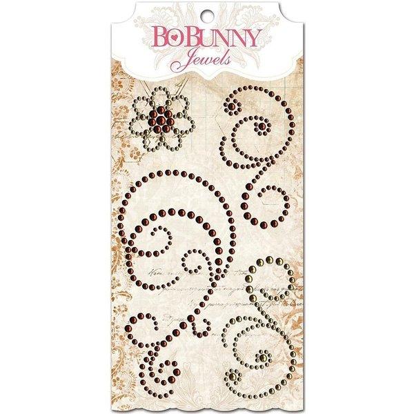 BoBunny Jewels (chocolate)