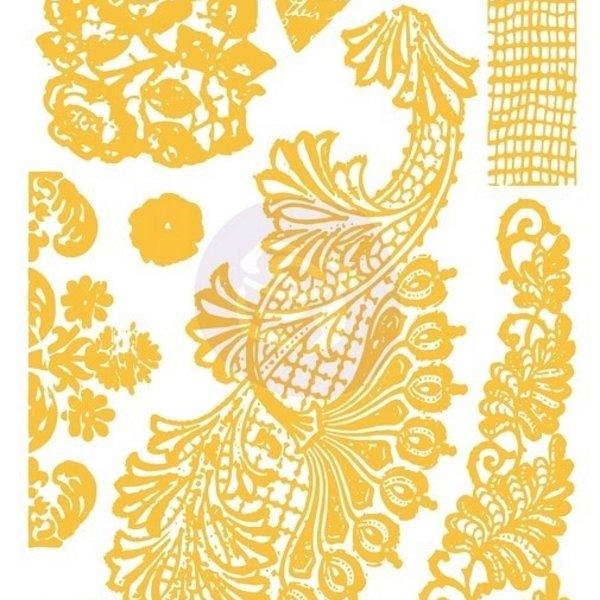 Prima Marketing Christine Adolph Adhesive Rub-ons (lace)