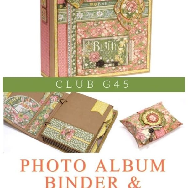 Graphic 45 Club G45 January 2019 Kit (golden goddess)