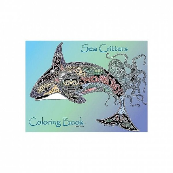Coloring  Book (sea critters)