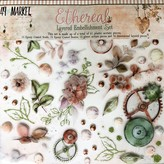 49 and Market Layered Embellishments 12X12 (ethereal)