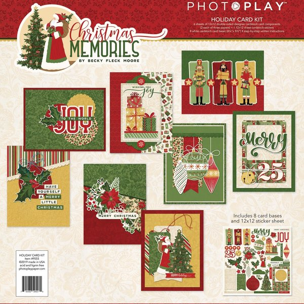 Photoplay Paper Collection Card Kit (christmas memories)
