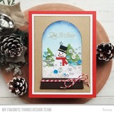 My Favourite Things Stamps (snow globe greetings)