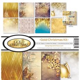 Reminisce Collection Kit 12X12 (gold christmas)