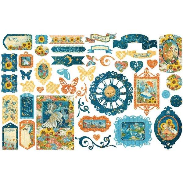 Graphic 45 Dreamland Cardstock Die-Cuts