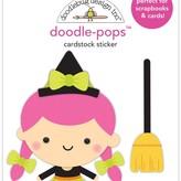 Doodlebug Doodle-Pops 3D Stickers (hazel)