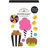Doodlebug Doodle-Pops 3D Stickers (candy carnival)