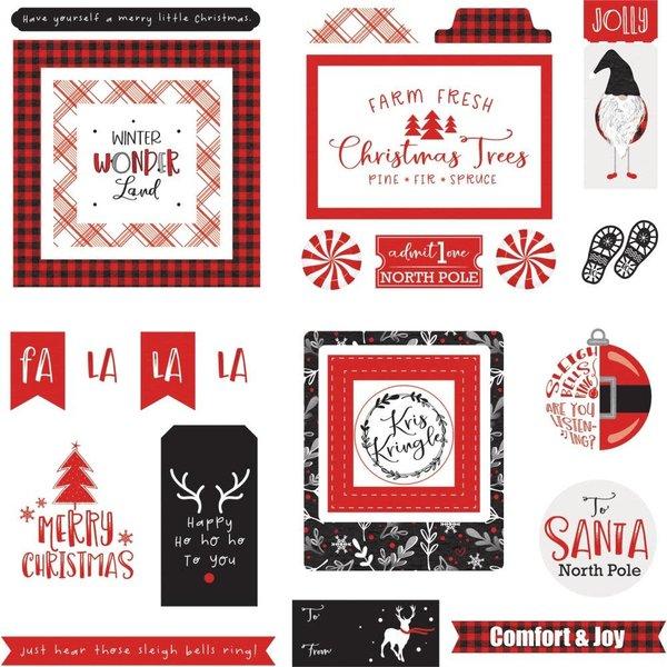 Photoplay Paper Ephemera Cardstock Die-Cuts (kringle & co)