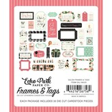 Echo Park Paper Cardstock Ephemera Frames & Tags (salon)