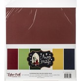 Echo Park Paper Double-Sided Solid Cardstock 12X12 (away in a manger)