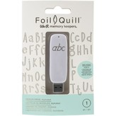 We R Memory Keepers Foil Quill USB Artwork Drive (alphabet)
