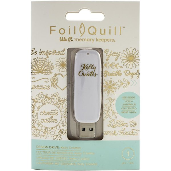 We R Memory Keepers Foil Quill USB Artwork Drive (kelly creates)
